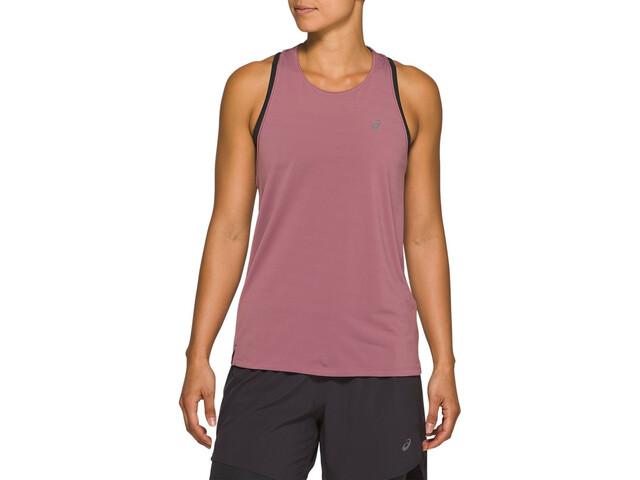 asics Race Sleeveless Top Women purple oxide